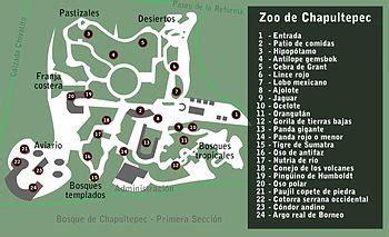 Zoológico de Chapultepec   Wikipedia, la enciclopedia libre