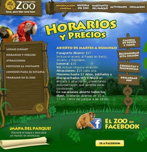 Zoológico de Palermo Precios 2012   Turismo.org