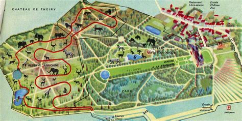 Zoos In France Map