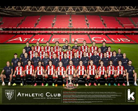 Zuri Gorri: 100% Athletic Club: Poster oficial temporada ...